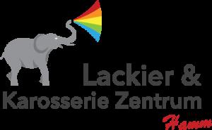 Logo des Lackier- und Karosseriezentrum Hamm.